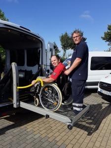 Fahrdienstwechsel bei den Stralsunder Werkstätten