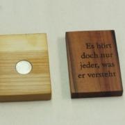 Holzmagnet