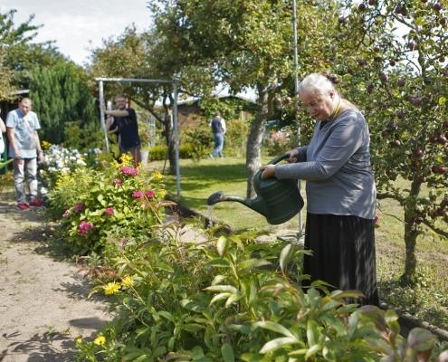 """Wohnhaus Stralsund - """"Gartenanlage Erholung und Frieden"""""""