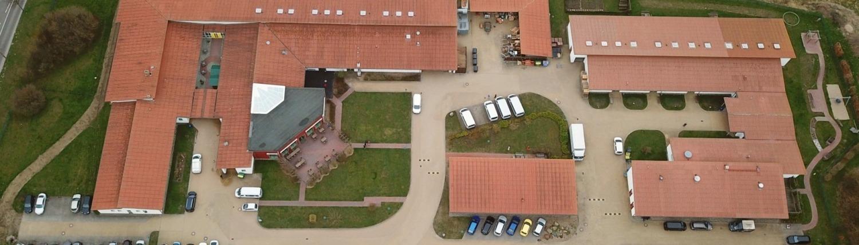 Stralsunder Werkstätten von oben